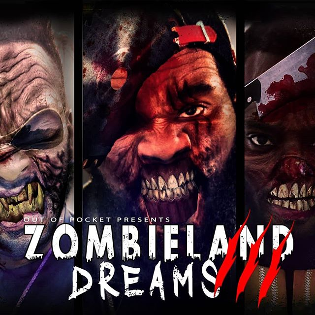 """#Halloween is right round the corner and the #zombies are upon us!! Take a wild ride with us on """"Zombieland Dreams 3"""", produced by and featuring @keyjayhd #ZLD3 #OutOfPocket . . . . . . . #bars #vibe #music #artist #rapmusic #browardmusic #floridamusic #songwriters #songwriter #singer #recordingartist #performers #performer #producer #consciousness #halloweencostumes #costumeidea #costume#Unsigned#entertainment #indiemusic#indieartist #zombieapocalypse #zombiemakeup #zombie #zombieland"""
