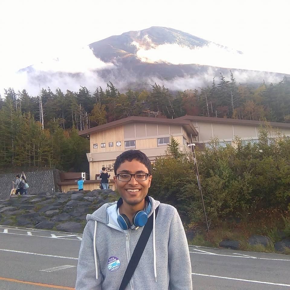 On Mt. Fuji - Japan 2016.