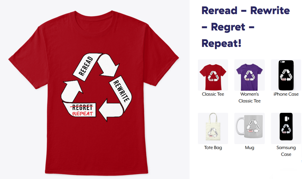 Reread - Rewrite - Regret