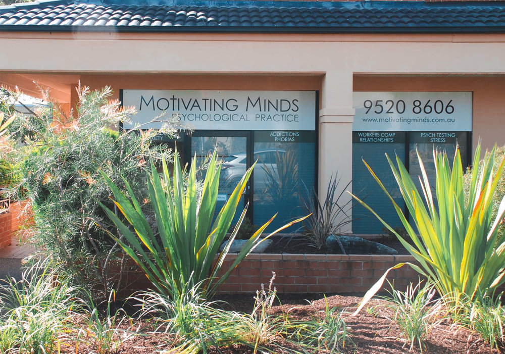 LOCATION(S) - GMCT sessions will be conducted on site at the combined premises of Motivating Marriages Psychology/Motivating Minds Psychological Practice.  1/6 Preston Avenue, Engadine, Sydney NSW 2233.