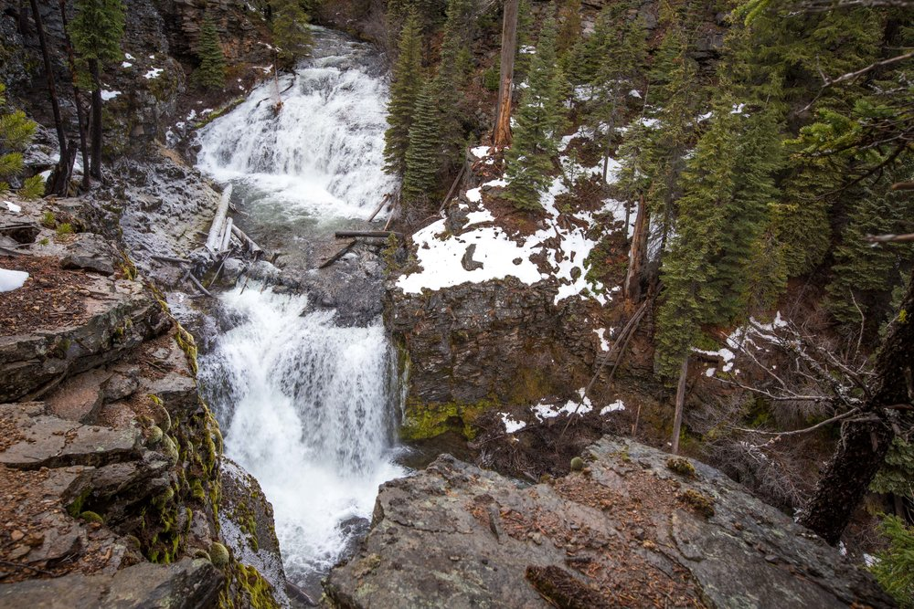 Upper Tumalo Falls Bend Photo Tours