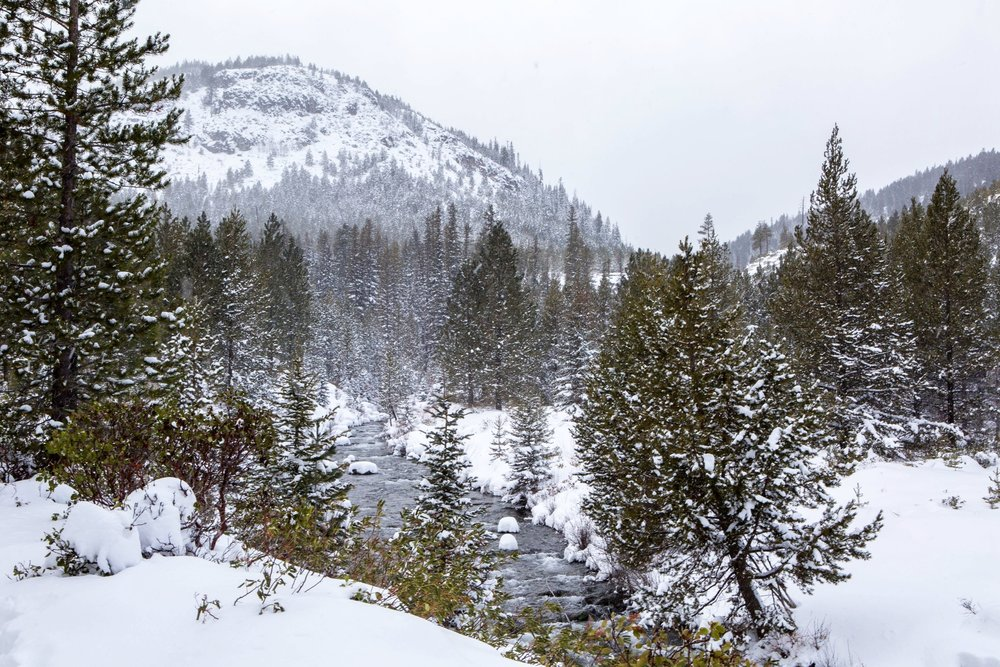 Tumalo Falls Winter Bend Photo Tours