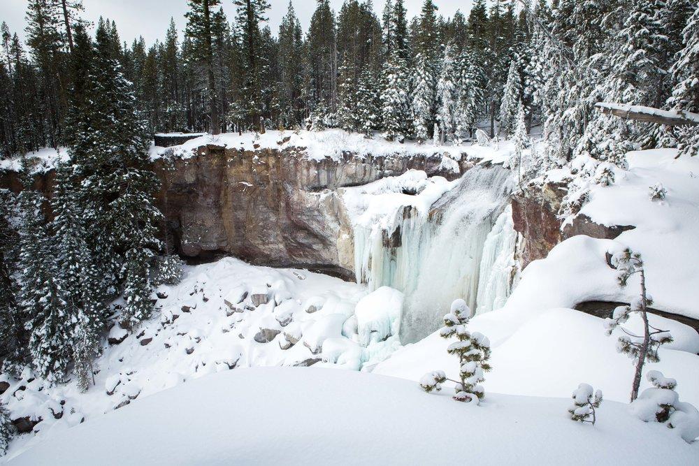 Paulina Falls - Bend photo tours