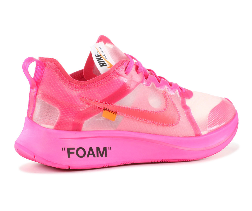 814d06c52917 Off-White Nike Zoom Fly - Pink