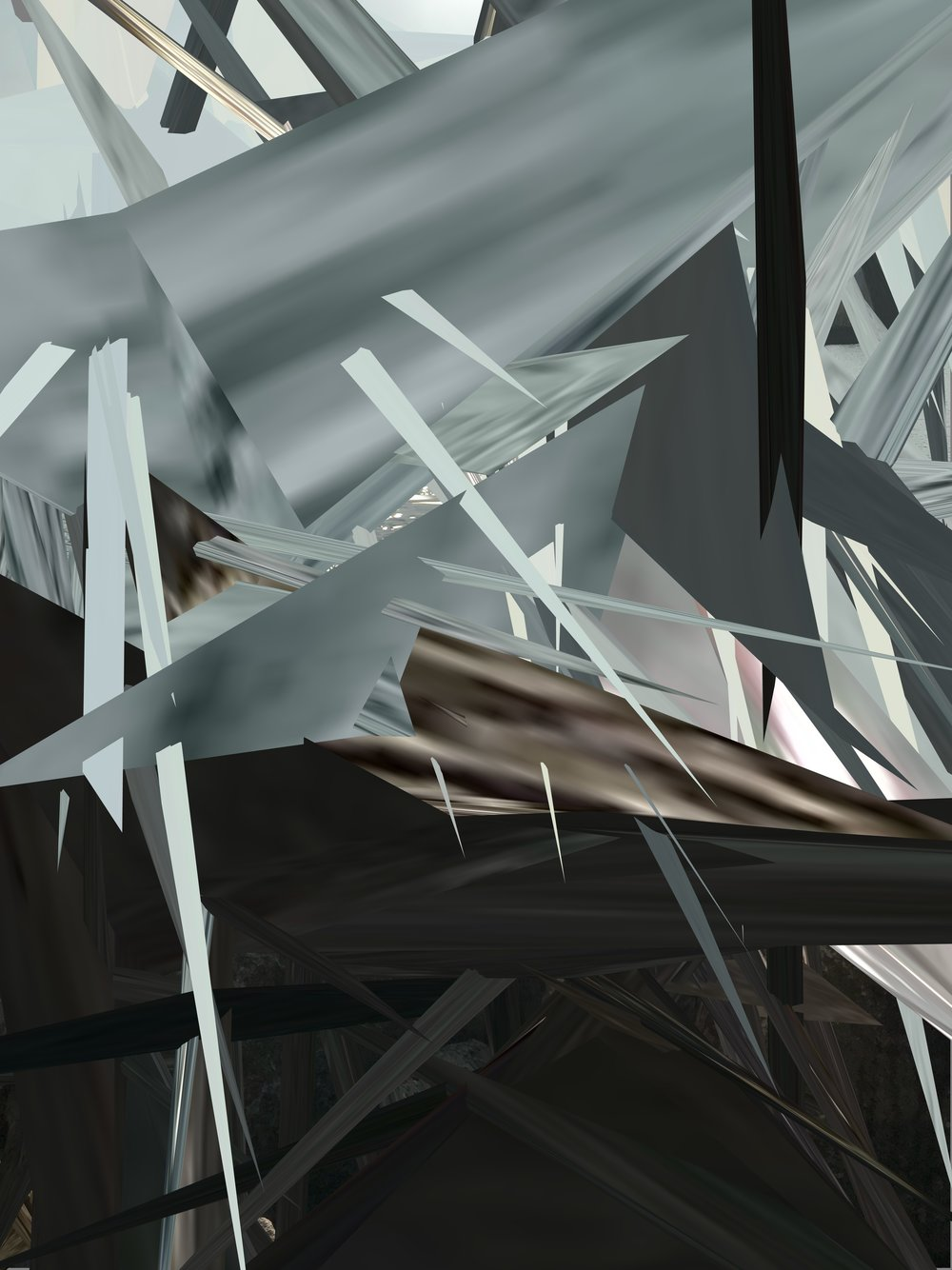 Digital Shrapnel series #9
