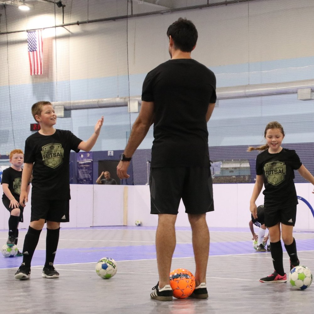 FUTSAL CLASSES - We offer Futsal classes for the beginner and experienced player. These classes offer a non competitive option for any player looking to supplement their outdoor soccer training.FALL: 9/16/18 - 11/18/18 ENROLLING NOWLOCATION: 615 E 6th St, Charlotte, NCWINTER: 12/2/18 - 2/24/19 ENROLLING NOW$270 Early Bird Until 11/15 LOCATION: 615 E 6th St, Charlotte, NCSPRING: Dates Coming Soon