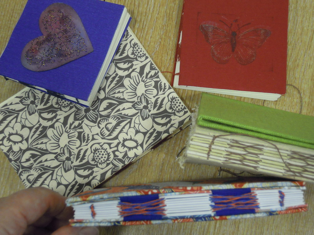SIDELLA O'BRIEN'S BOOKBINDING SAMPLES