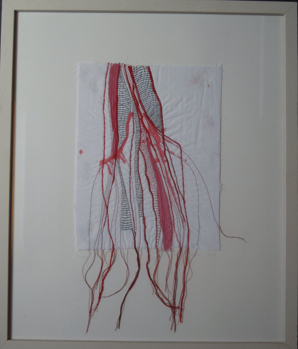 Flow, Where Ink Meets Thread