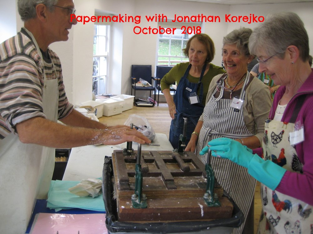 Papermaking with Jonathan Korejko