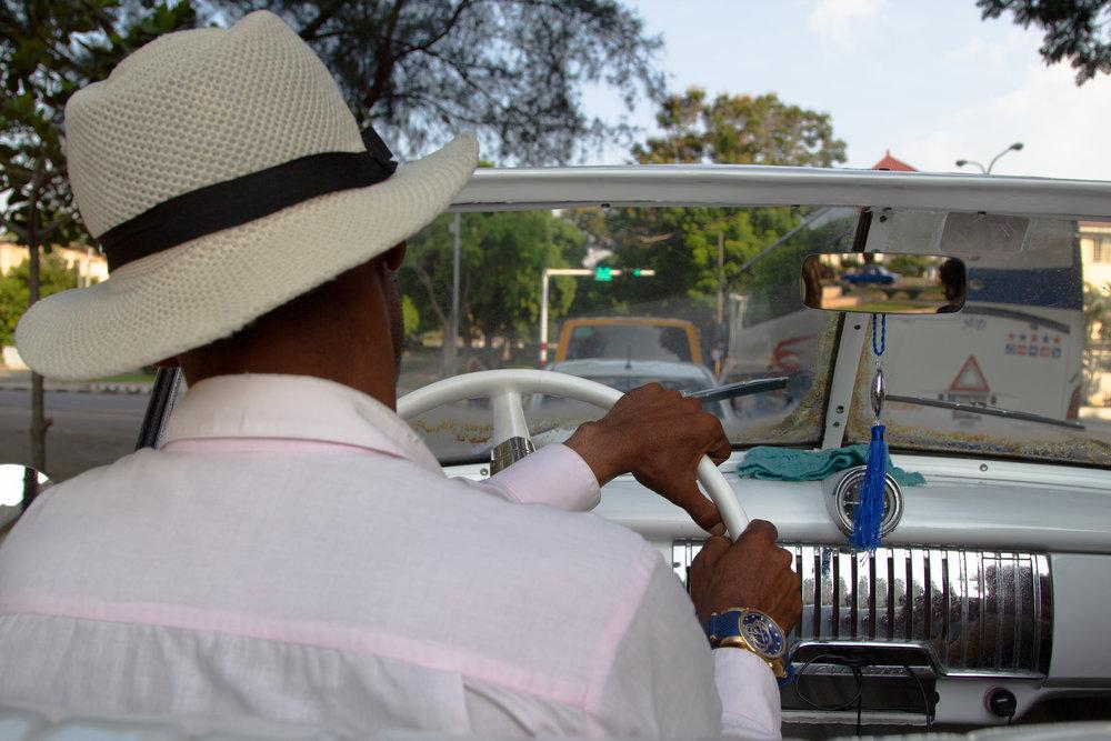 Havana Taxi Driver