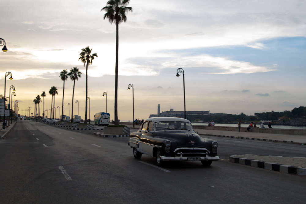 The Malecon at Dusk