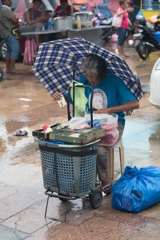 Wandering the Manila Streets: Smoke Break
