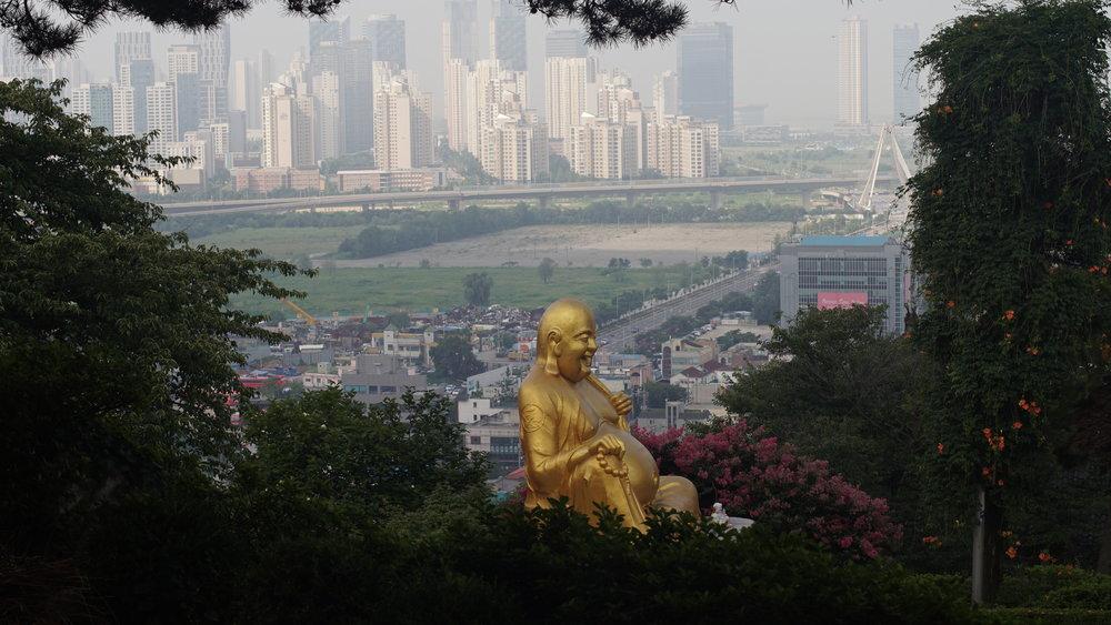 Buddha Above the Skyline