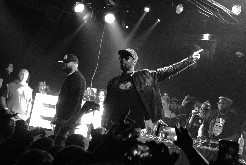 RZA and Ghostface Killah of Wu-Tang Clan