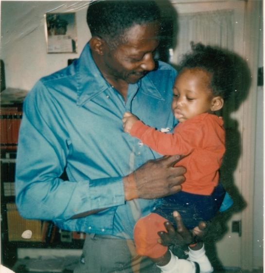 Me and my PawPaw, Patrick Williams in 1973.