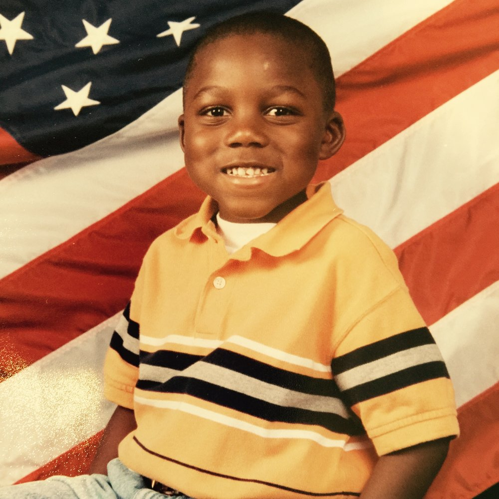 My son at age 4. That smile and those dimples were his secret weapon. I was like putty in his little hands. LOL