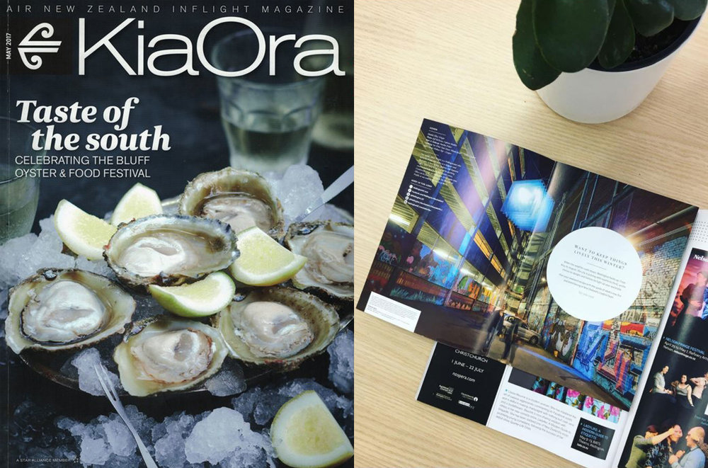 KiaOra Magazine WellingtonNZ Kaynemaile Feature Opera House Lane