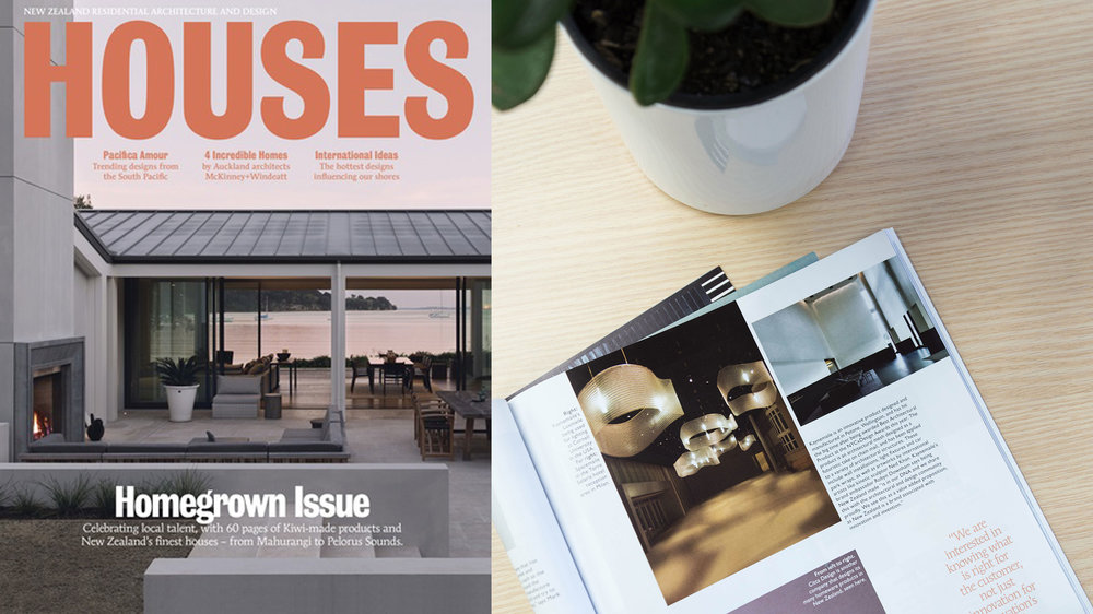 Kaynemaile feature in Houses magazine