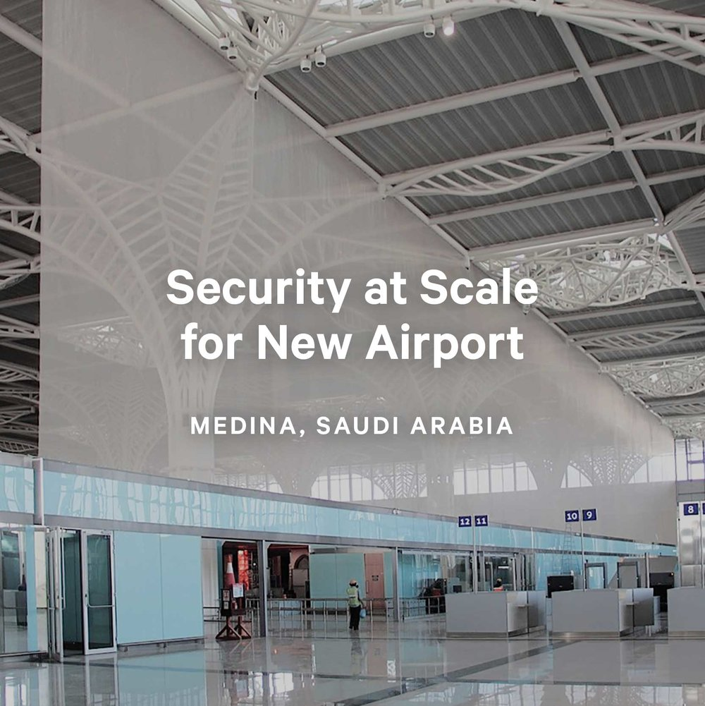 Security at Scale for New Airport
