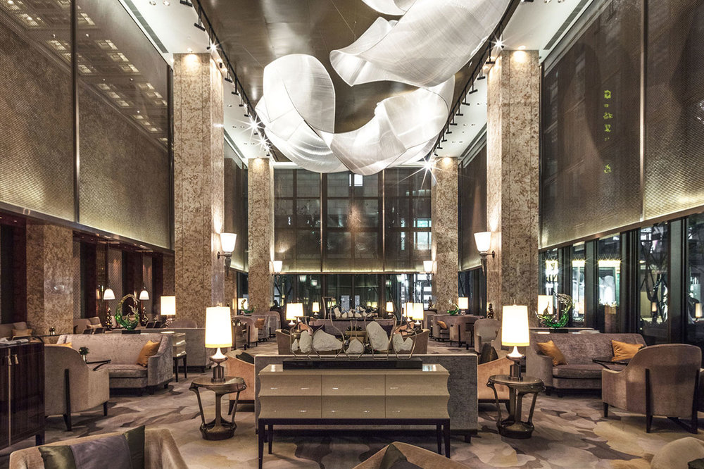 Elegant Shading for Shangri-La Hotel  Hangzhou, China