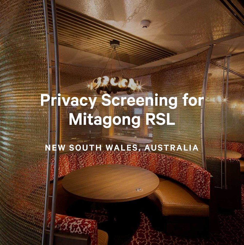 Privacy Screening for Mitagong RSL