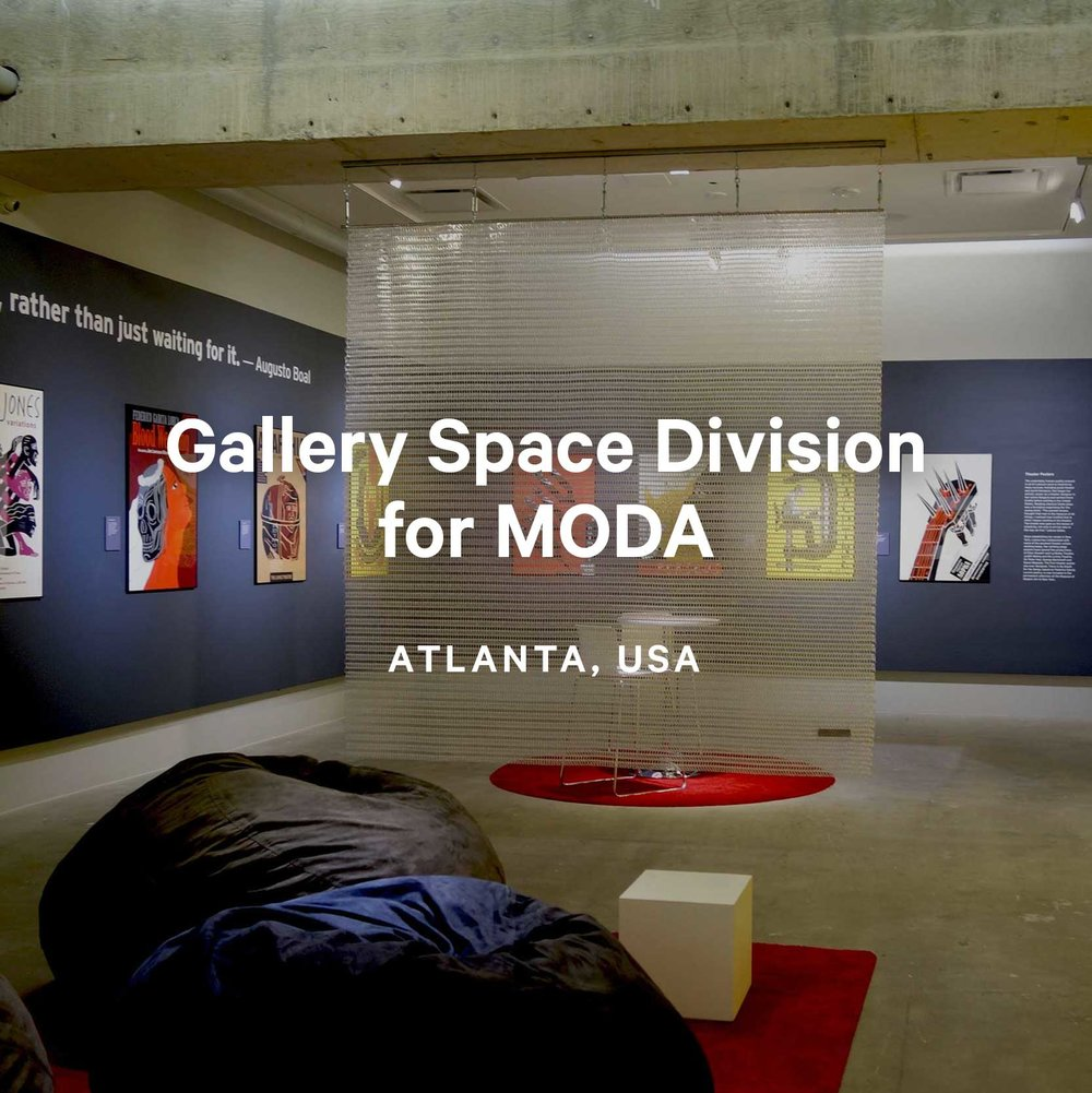Gallery Space Division for MODA