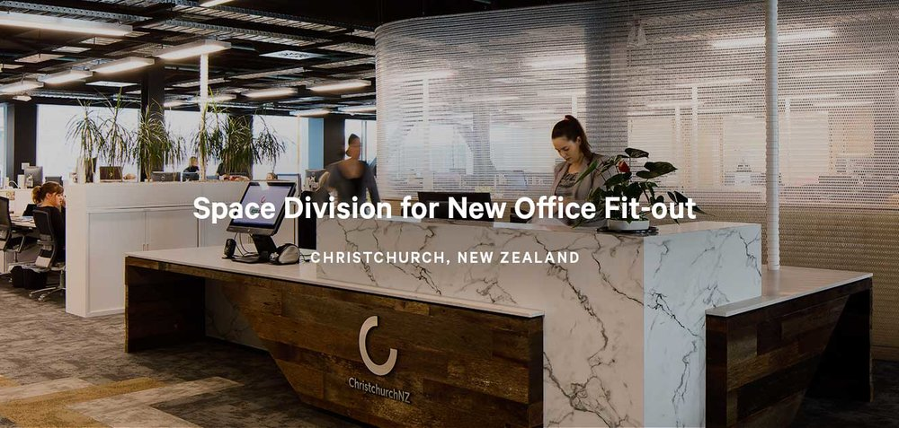 Space Division for New Office Fit-out