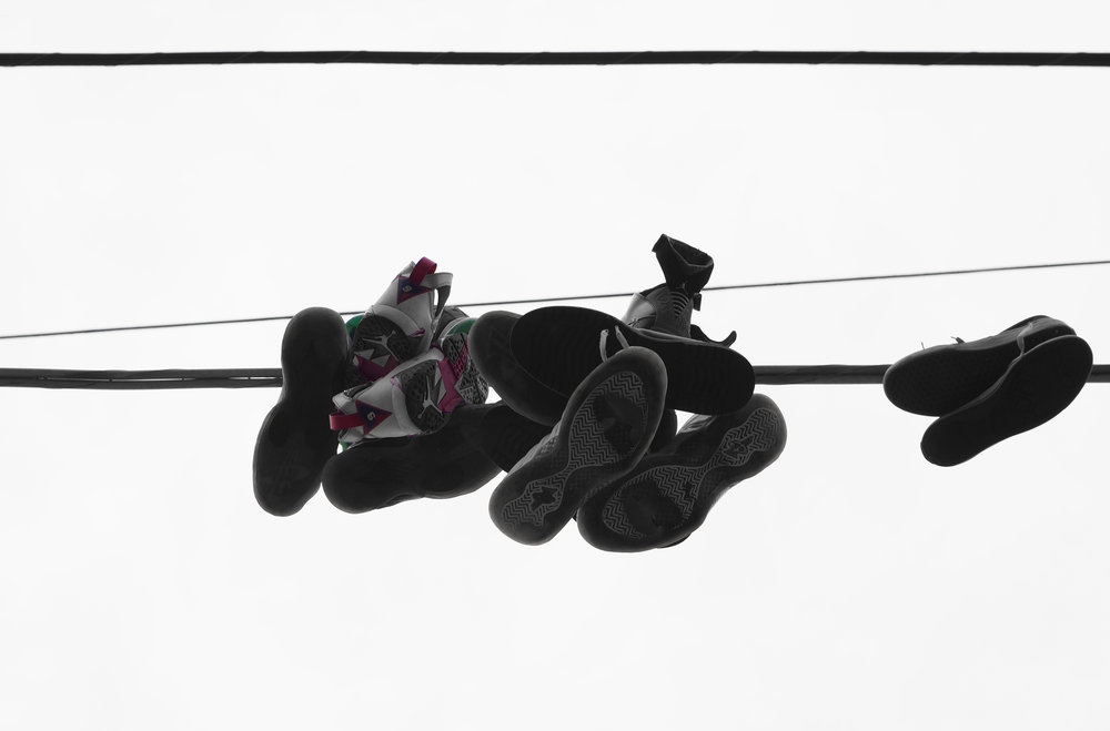 Worn Air Jordans