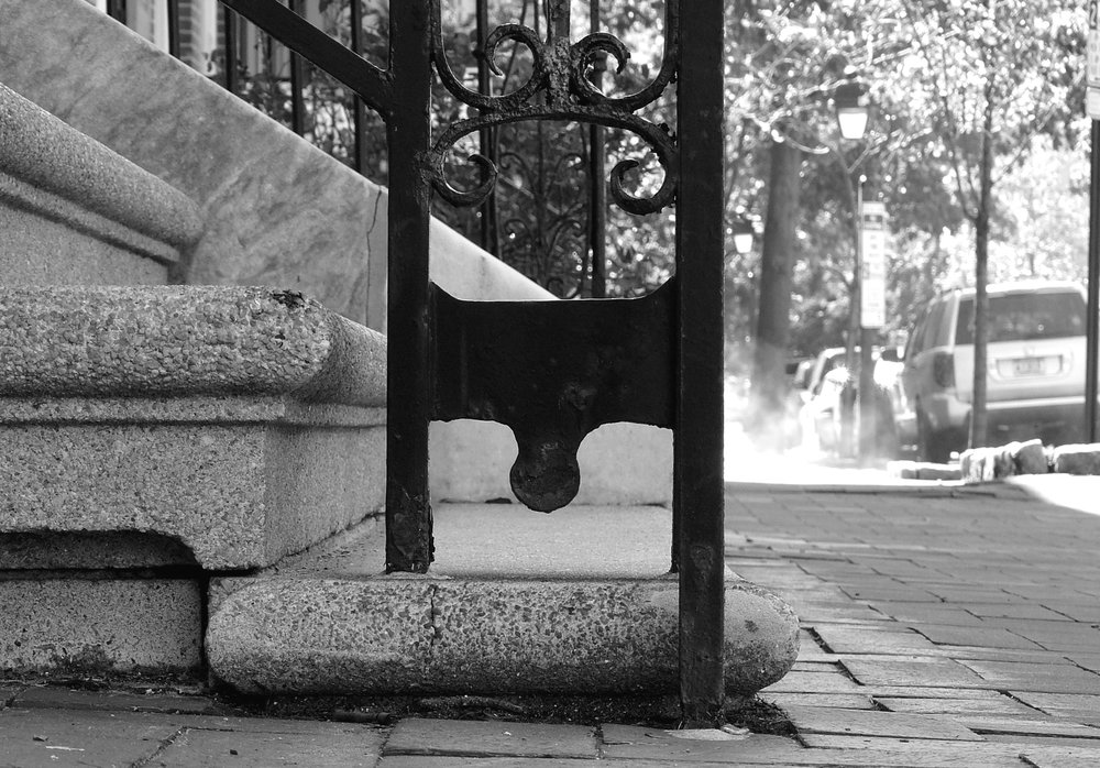 Railing guillotine, Philadelphia