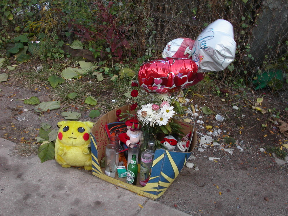 RIP Pikachu-N. 13th & W. York Streets