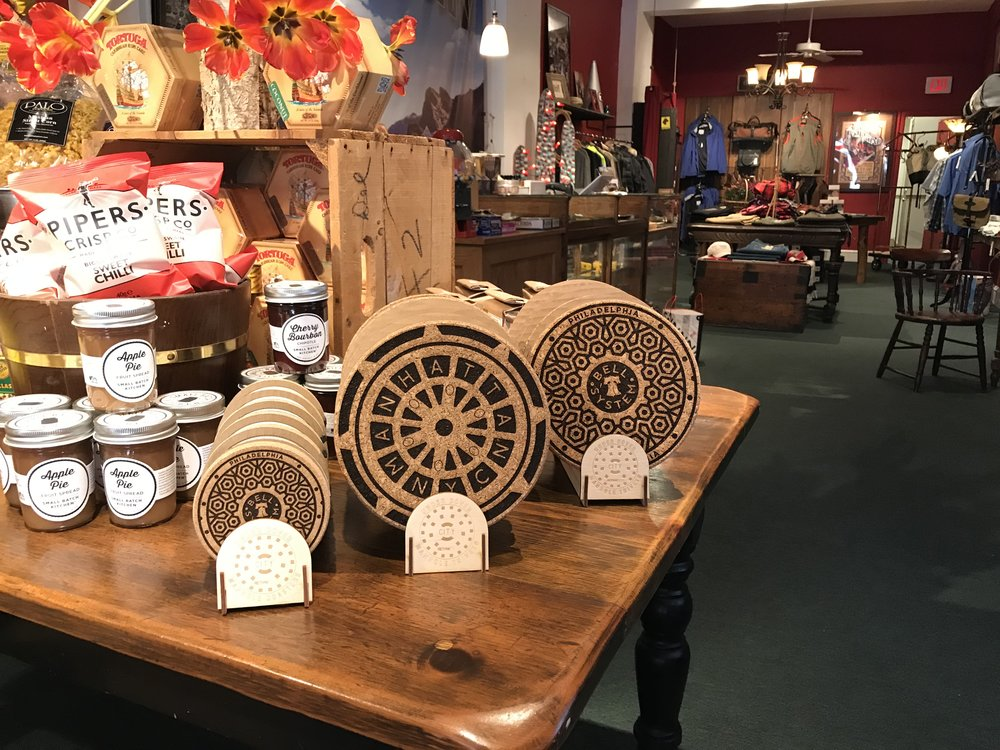 tHE uNDER COVER SERIES IS NOW AVAILABLE AT THE GORSHIN TRADING POST & SUPPLIES - Visit the man-cave in bucolic Haddonfield, New Jersey and ask to see the speakeasy in the back. Way cool shop.