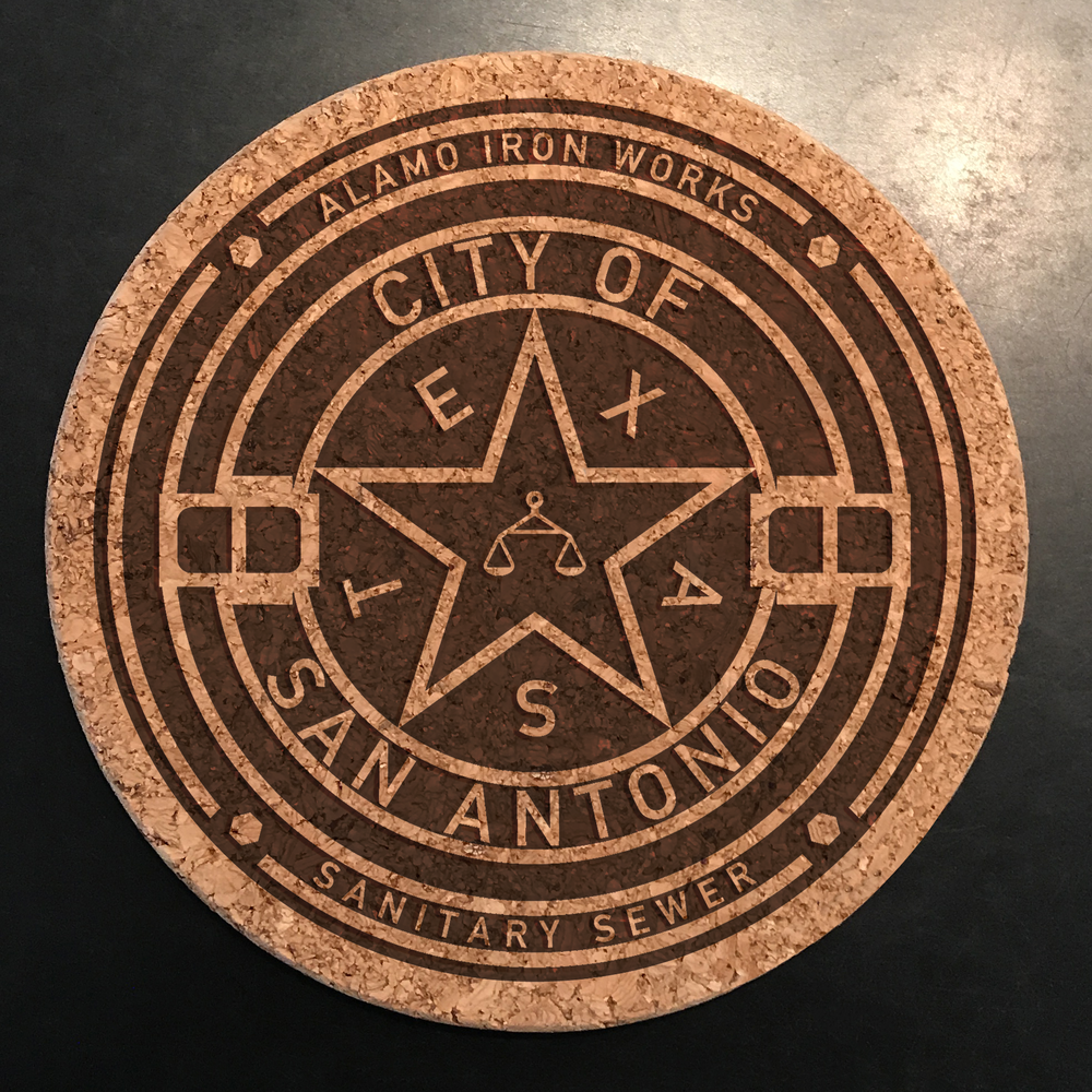 Manhole Trivet San Antonio.png