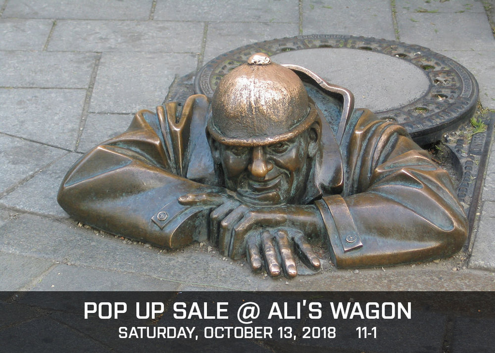 Rethinktank's first pop up! - Under Cover Manhole Coasters and TrivetsThis Saturday from 11-1 @ Ali's Wagon2017 Fairmount Ave, Philadelphia, PA 19130