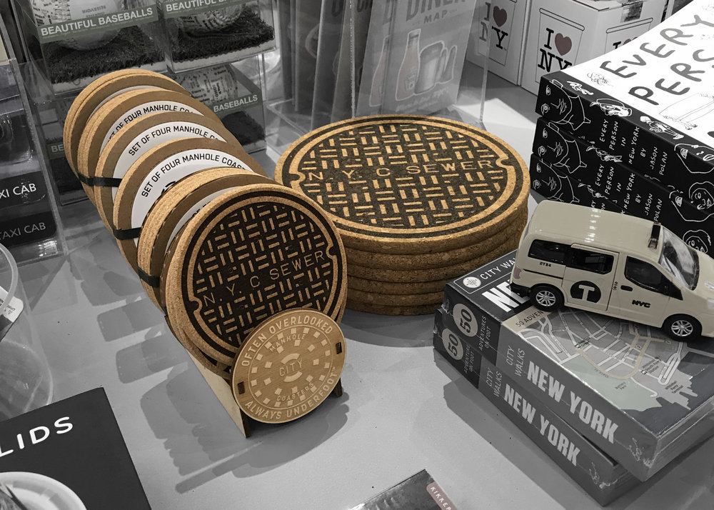 the nyc coaster series and trivets are now available at the cooper hewitt shop - Enjoy the best design exhibitions at the Cooper Hewitt and take a trivet home as a keepsake. See if you can find the