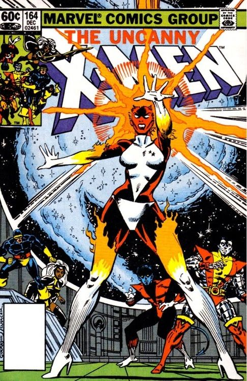 Carol's first appearance as Binary. Note the two stars on the uniform to represent her codename.
