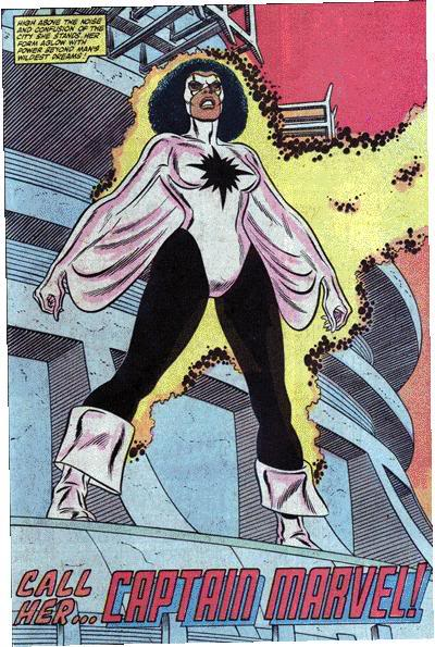 Monica Rambeau.  The only Captain Marvel with no Kree connection.