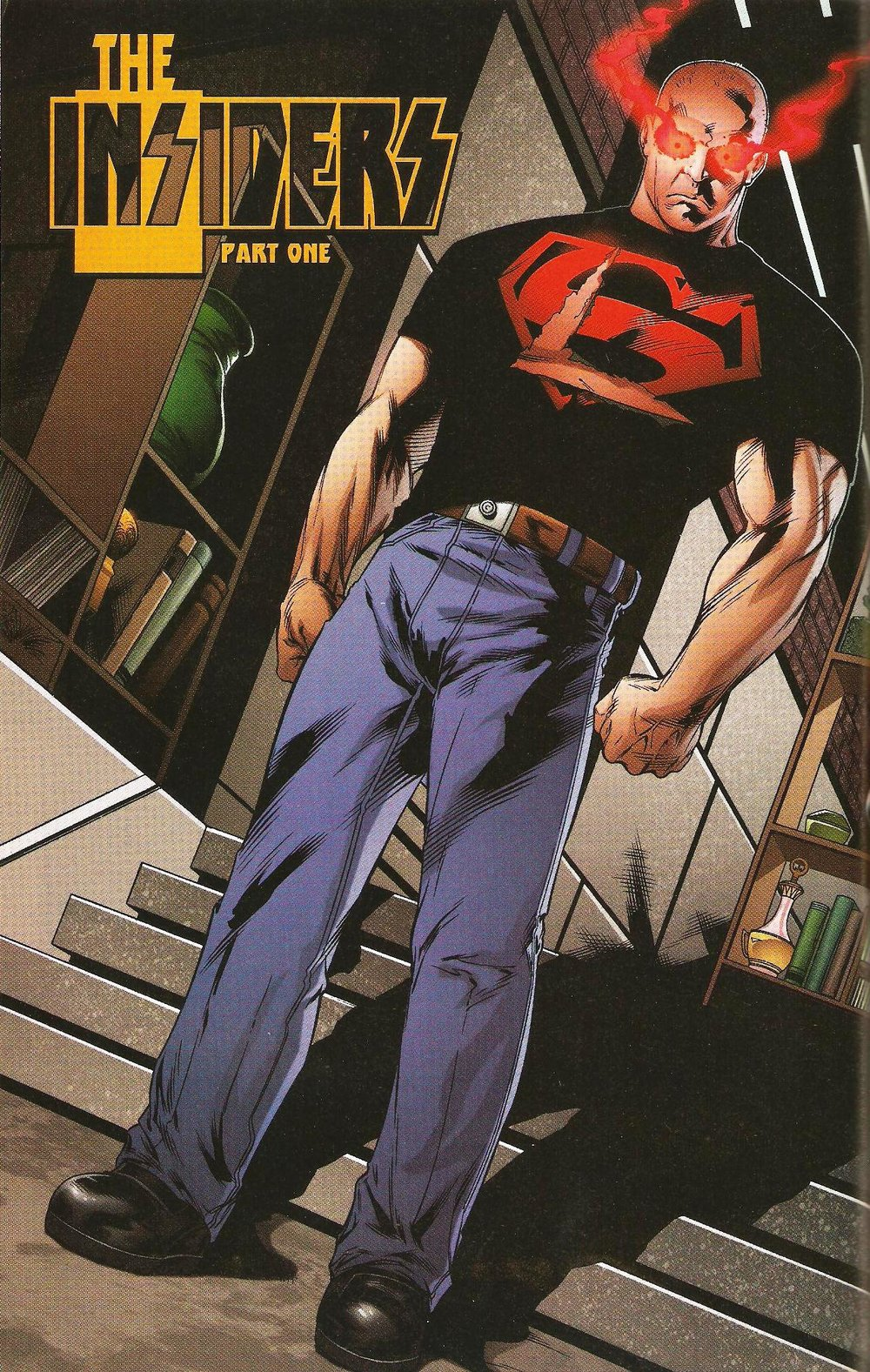 "Superboy decides to take after his other ""dad"" for a little while. It doesn't end well."