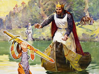 One of the granddaddies of fantasy literature: King Arthur.