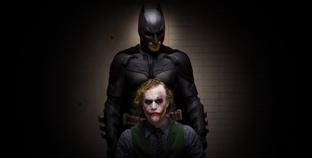 You might want to check behind you Joker…