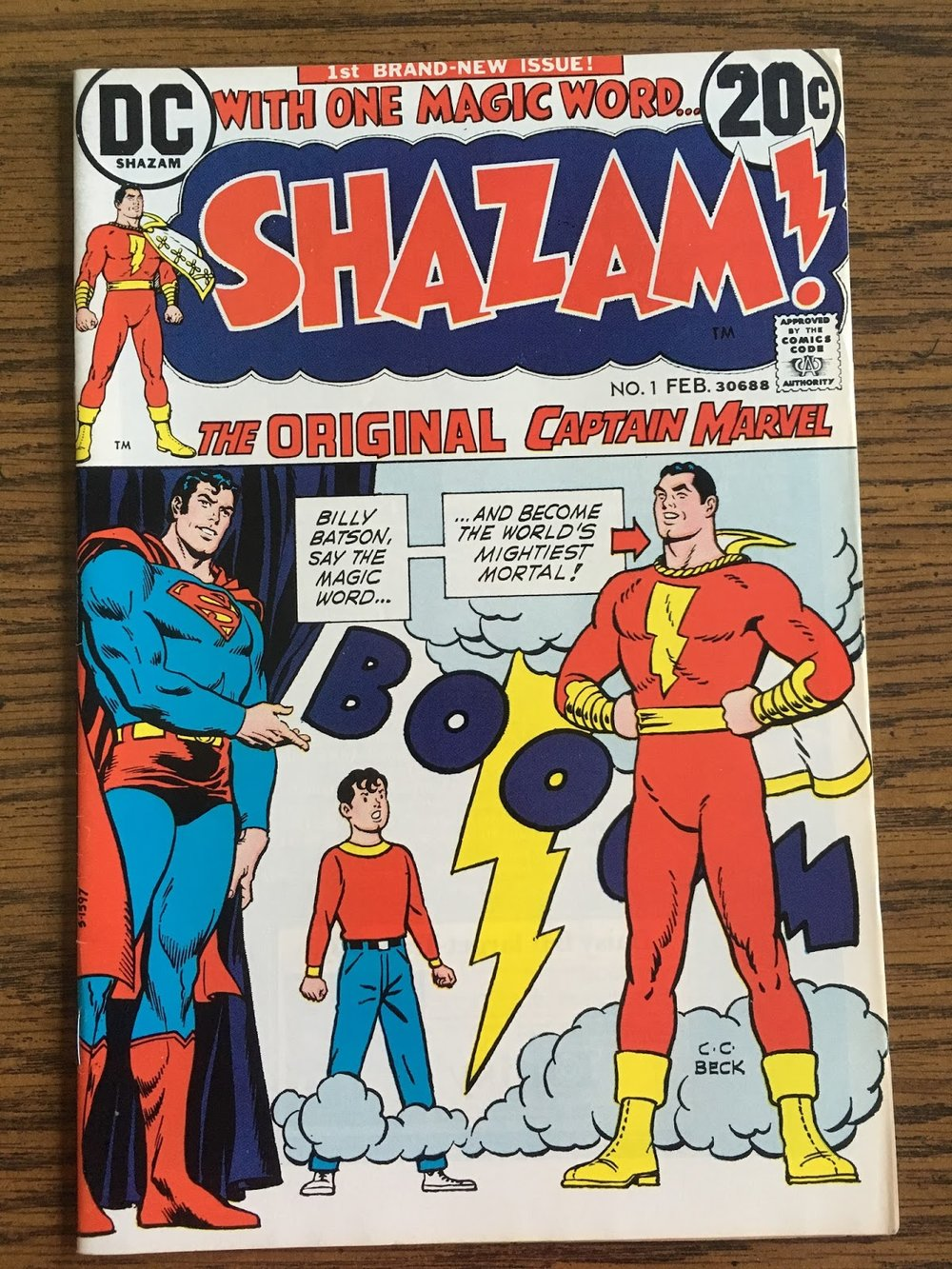 The Original! Take that Marvel Comics! What's that? Lawyers? Oh, never mind…