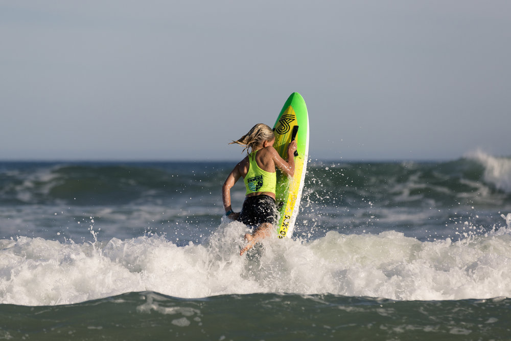 The transition from a foam board to a custom 4dboard has been a fun experience. - – Jerry Kelly, nipper