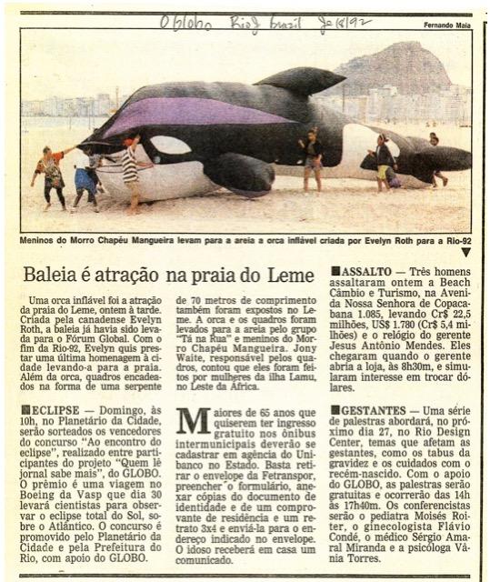 Rio Brazil 1992