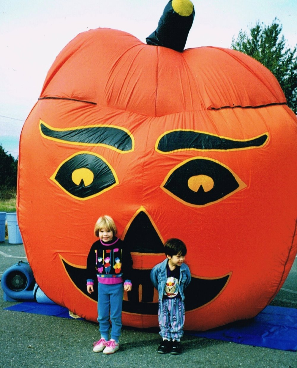 Jack O' Lantern Halloween Pumpkin