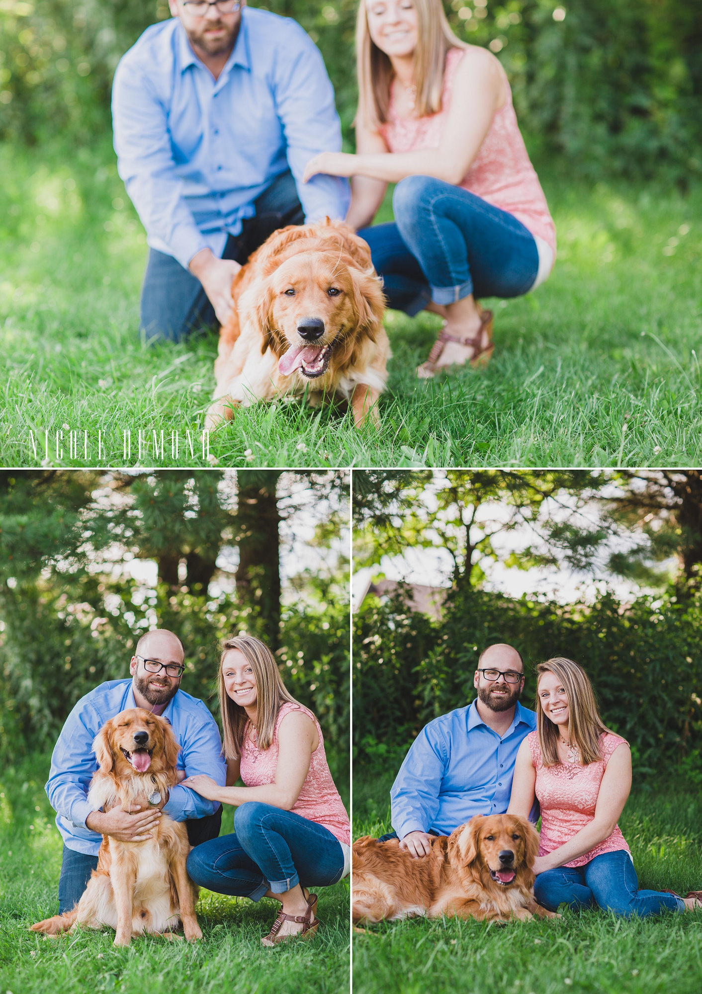 summer engagement session