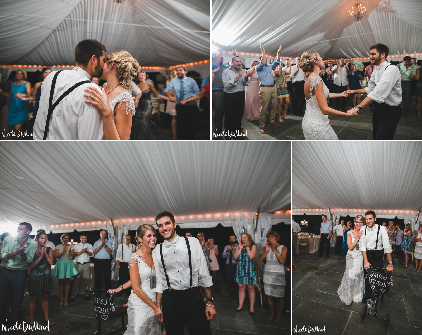 Strong Mansion tent wedding 107