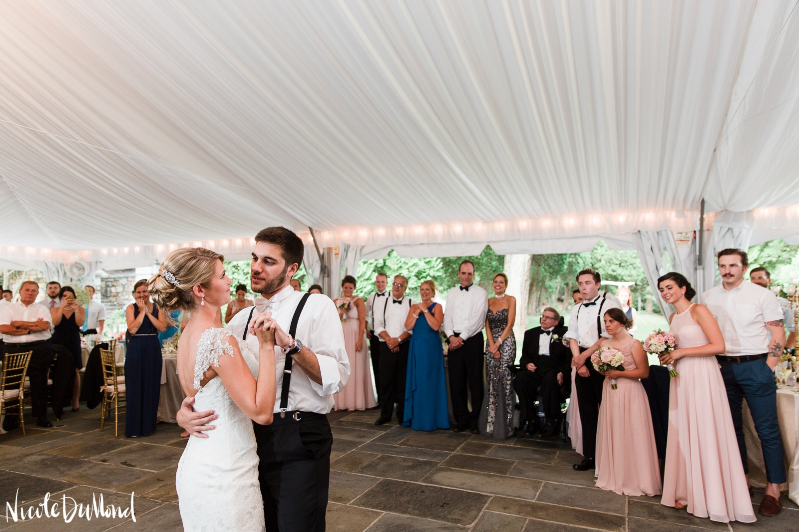 Strong Mansion tent wedding 78