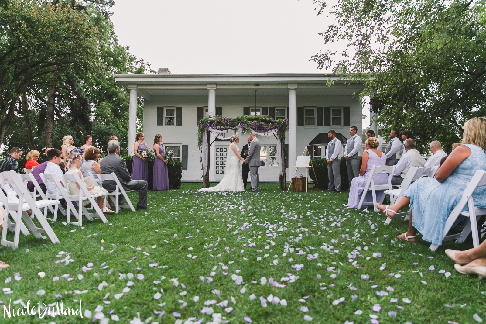 Colonial Pines Lewisburg Wedding