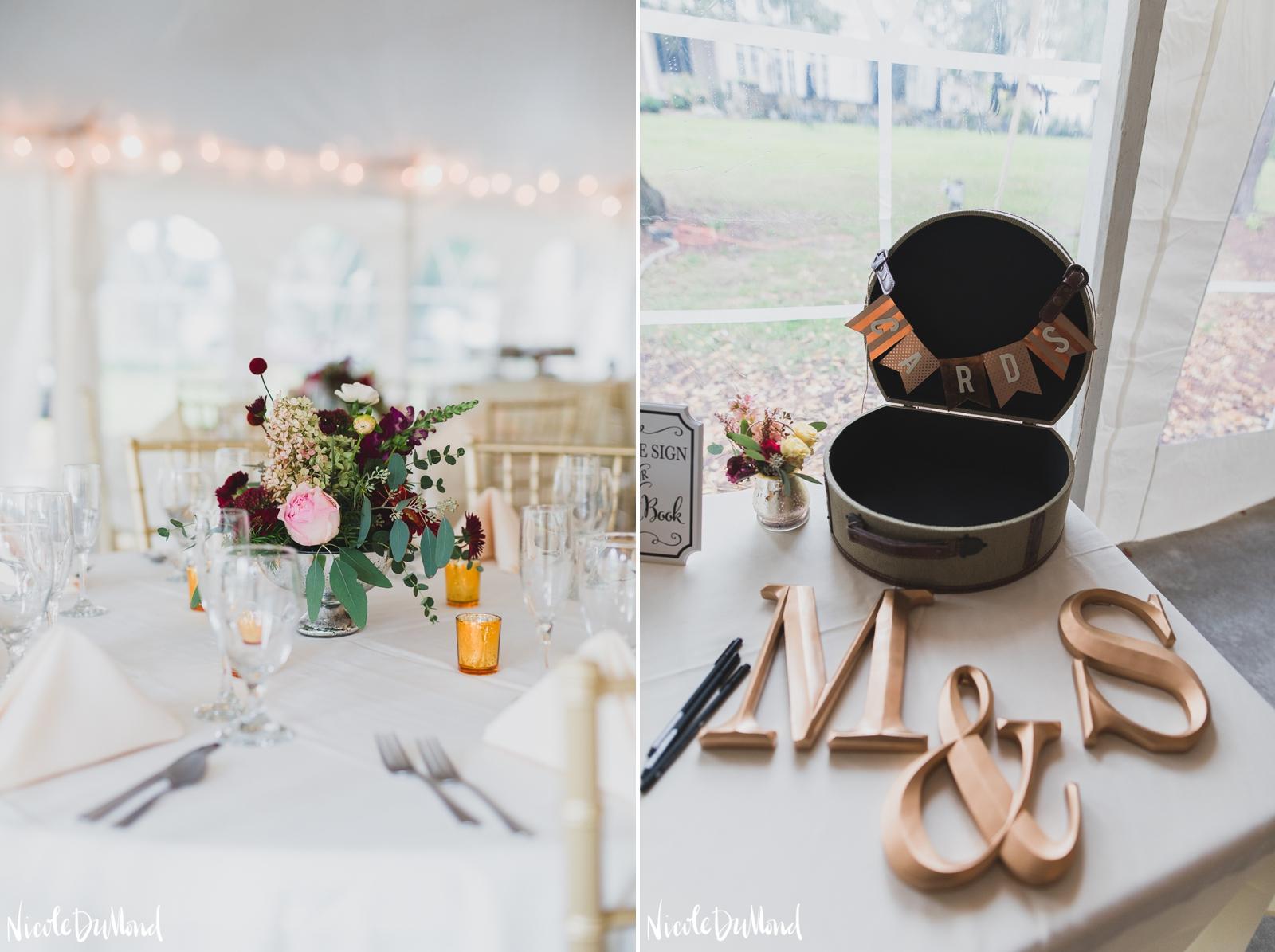 bush house wedding