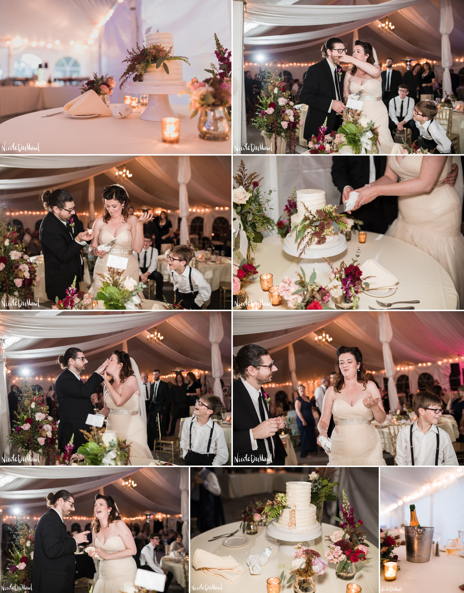 bush house wedding