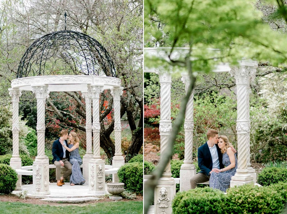Wilmington North Carolina Arboretum Engagement Session
